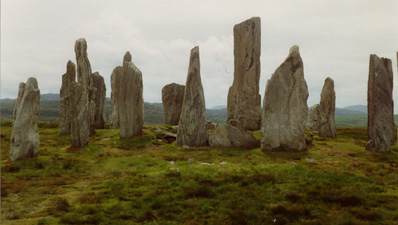 Callanish Stone Circle -   celtic, celt, mythology, earth mysteries, ancient sites, 